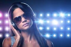Music woman Stock Photos