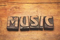 Music wood vintage Royalty Free Stock Photography
