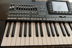 Music workstation synthesizer Royalty Free Stock Photography