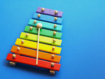Music - xylophone Royalty Free Stock Photography