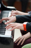 Music in your hands Royalty Free Stock Photos