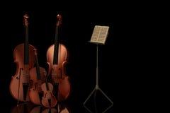Musica 1 Fotografia Stock