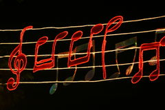 Musica. Fotografie Stock