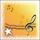Musica illustrazione di stock