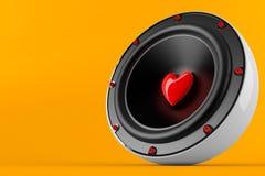 Musica amorosa Immagine Stock Libera da Diritti