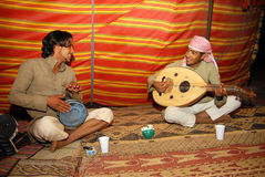 Musica araba Fotografia Stock Libera da Diritti
