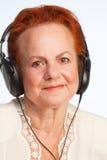 Musica buona d'ascolto Fotografia Stock Libera da Diritti