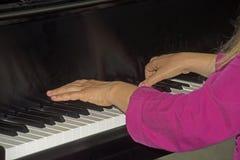Musica classica che è in tensione giocato Fotografia Stock