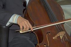 Musica classica che è in tensione giocato Fotografie Stock