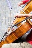 Musica classica della via Immagini Stock Libere da Diritti