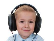 Musica d'ascolto Immagini Stock Libere da Diritti