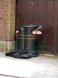 Musica dei rifiuti Fotografia Stock