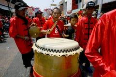 Musica del cinese tradizionale Immagini Stock