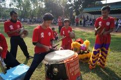 Musica del cinese tradizionale Immagini Stock Libere da Diritti