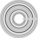 Musica del codice a barre Fotografie Stock