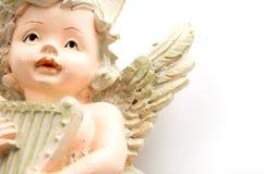 Musica del gioco di angelo Fotografie Stock Libere da Diritti