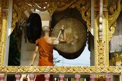 Musica del gioco del monaco fotografia stock libera da diritti