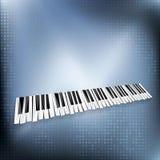 Musica del piano Immagini Stock Libere da Diritti