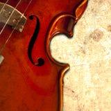 Musica del violino Fotografie Stock Libere da Diritti