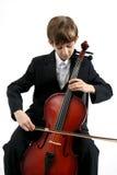 Musica del violoncello Fotografia Stock Libera da Diritti