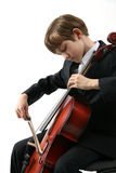 Musica del violoncello Immagini Stock Libere da Diritti