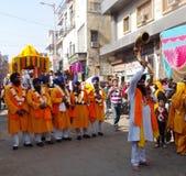 Musica Delhi/India Fotografia Stock