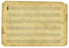 Musica dell'annata fotografia stock libera da diritti
