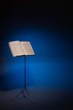 Supporto di musica con musica del piano dell'annata Fotografia Stock Libera da Diritti