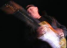 Musica della chitarra della spuma di anni sessanta fotografie stock
