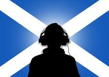 Musica della Scozia illustrazione vettoriale