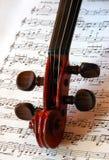 Musica della stringa Fotografia Stock Libera da Diritti