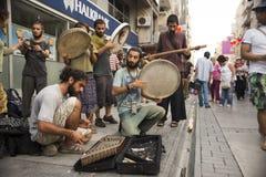 Musica della via Fotografie Stock Libere da Diritti