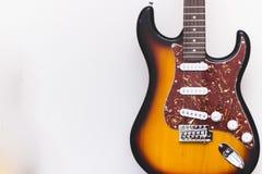 Musica dello strumento musicale della chitarra acustica fotografie stock libere da diritti