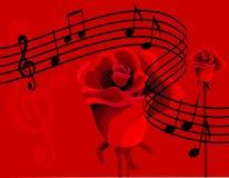 Musica di amore Fotografia Stock