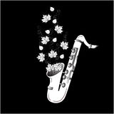 Musica di autunno Fotografie Stock