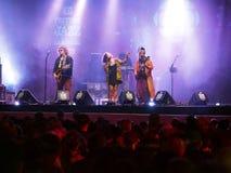 Musica di Baba Zula da Costantinopoli Turchia fotografie stock libere da diritti