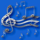 Musica di metalli pesanti Immagini Stock