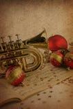 Musica di Natale immagini stock