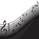 Musica di priorità bassa Immagine Stock Libera da Diritti