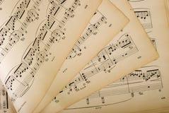 Musica di strato Fotografie Stock Libere da Diritti