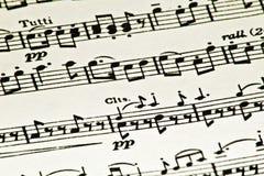 Musica di strato Immagini Stock