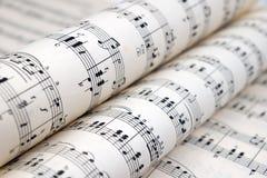 Musica di strato Fotografie Stock