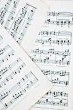 Musica di strato Immagine Stock