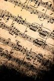 Musica di strato dell'annata fotografie stock