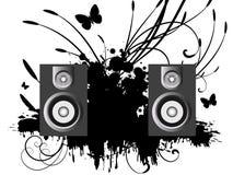 Musica di vettore Fotografie Stock Libere da Diritti