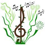 Musica di vita Immagini Stock