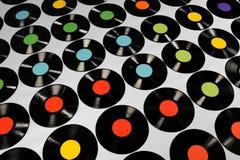 Musica - dischi di vinile Fotografie Stock Libere da Diritti