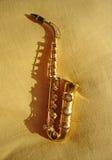 Musica du saxo e Photographie stock libre de droits