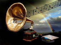 Musica e natura Fotografia Stock Libera da Diritti