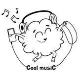 Musica fredda Fotografia Stock Libera da Diritti